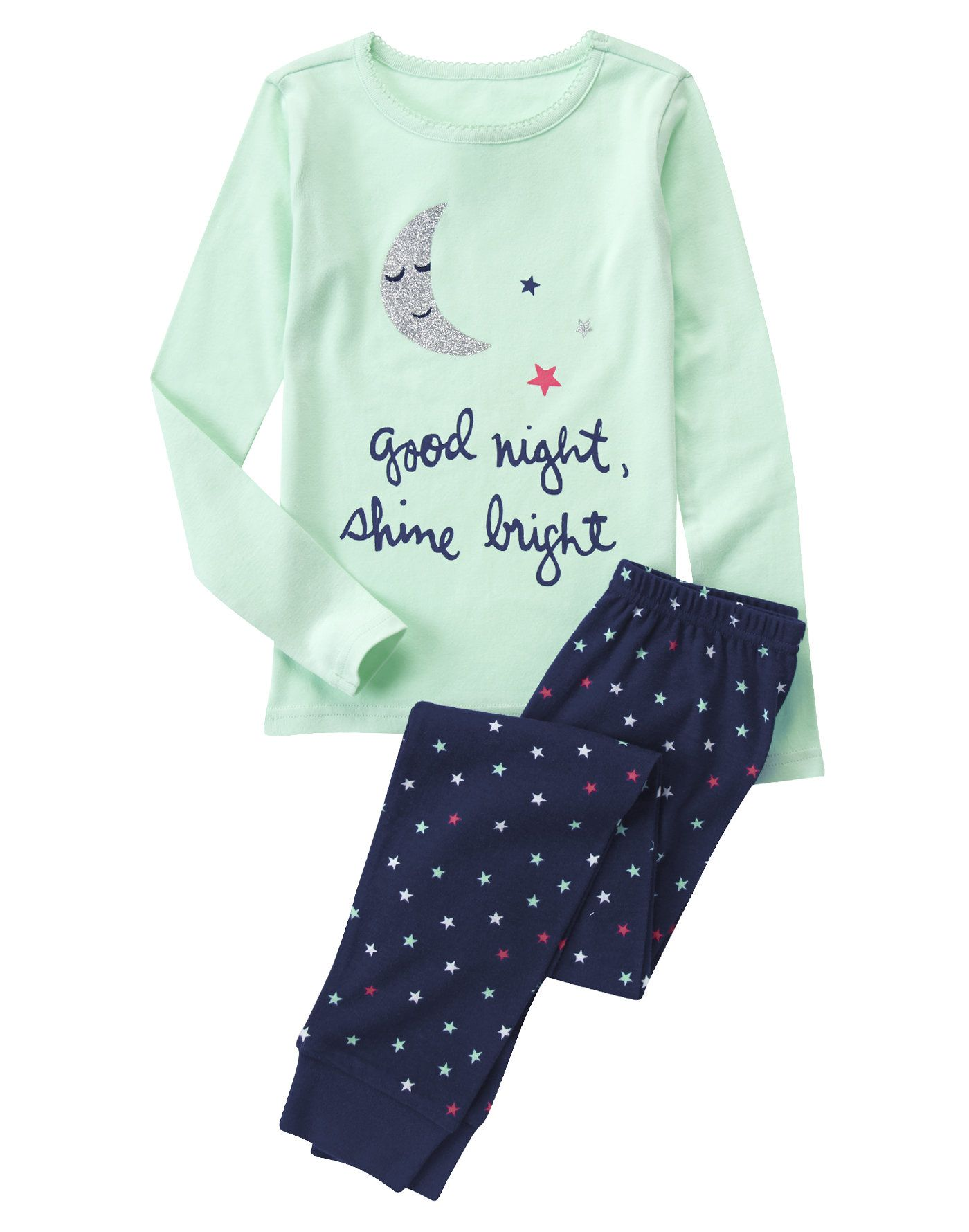 456a67a3d5a4 Good Night Shine Bright 2-Piece Pajama Set at Crazy 8 (Crazy 8 6m-5y ...