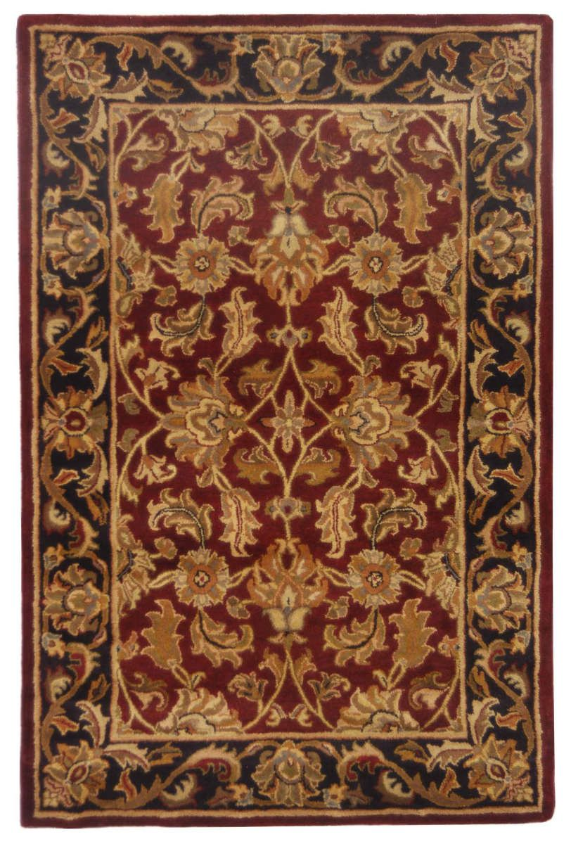 Safavieh Heritage Hg628c Red Black Area Rug Wool Area Rugs Traditional Area Rugs Area Rugs