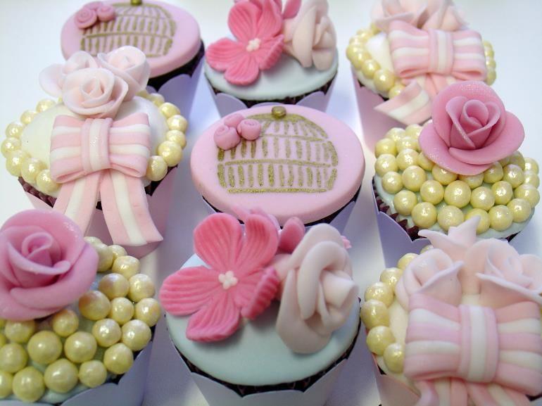 cha da tarde - cupcakes