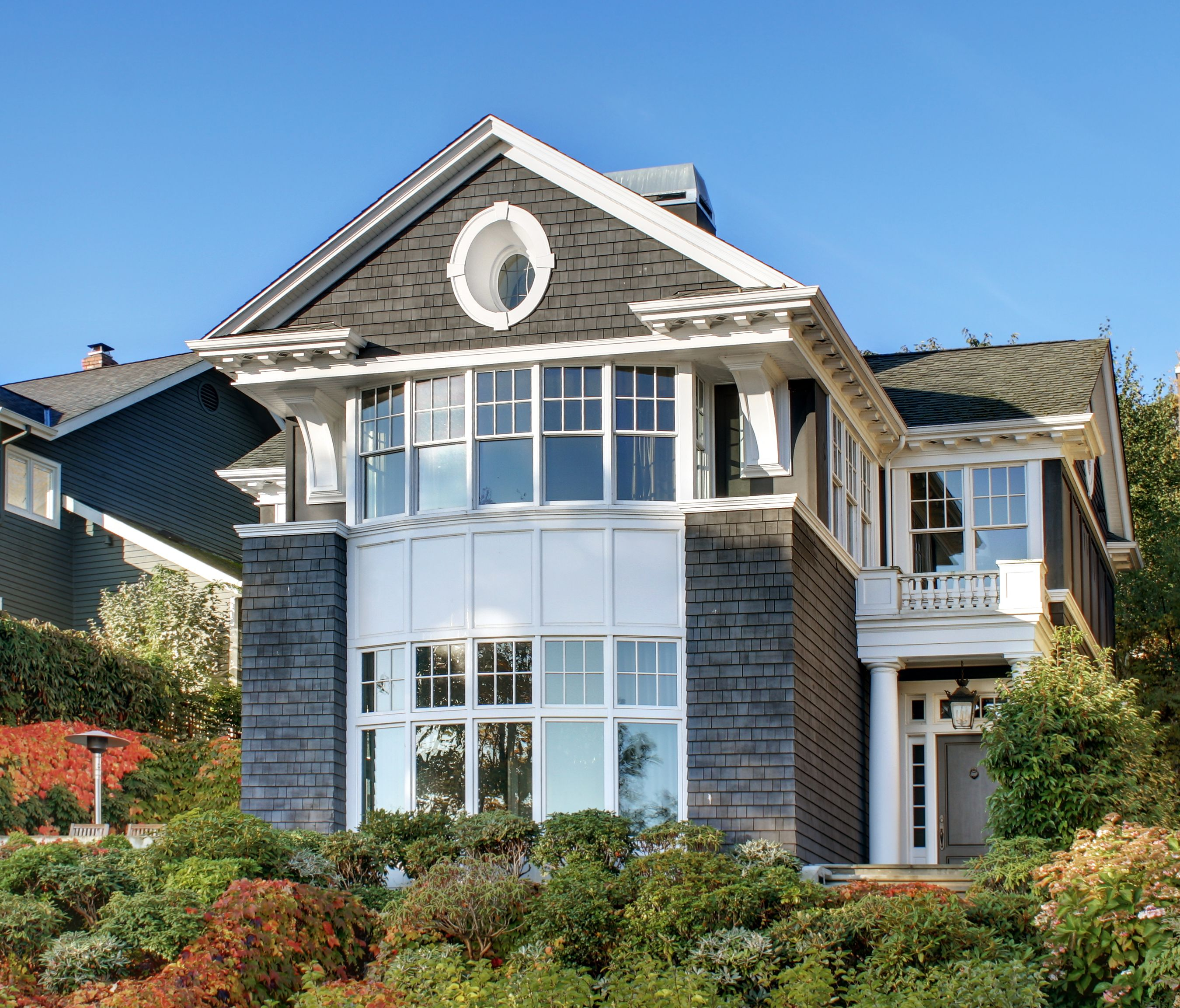 Traditional Georgian Details Guarantee Timeless Design For This Lake  Washington Home. Exterior Features Include Sweeping