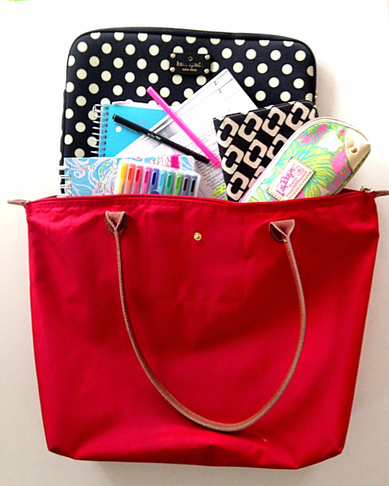 f75160597f80 Handbags   Heartbeats  What s In My School Bag