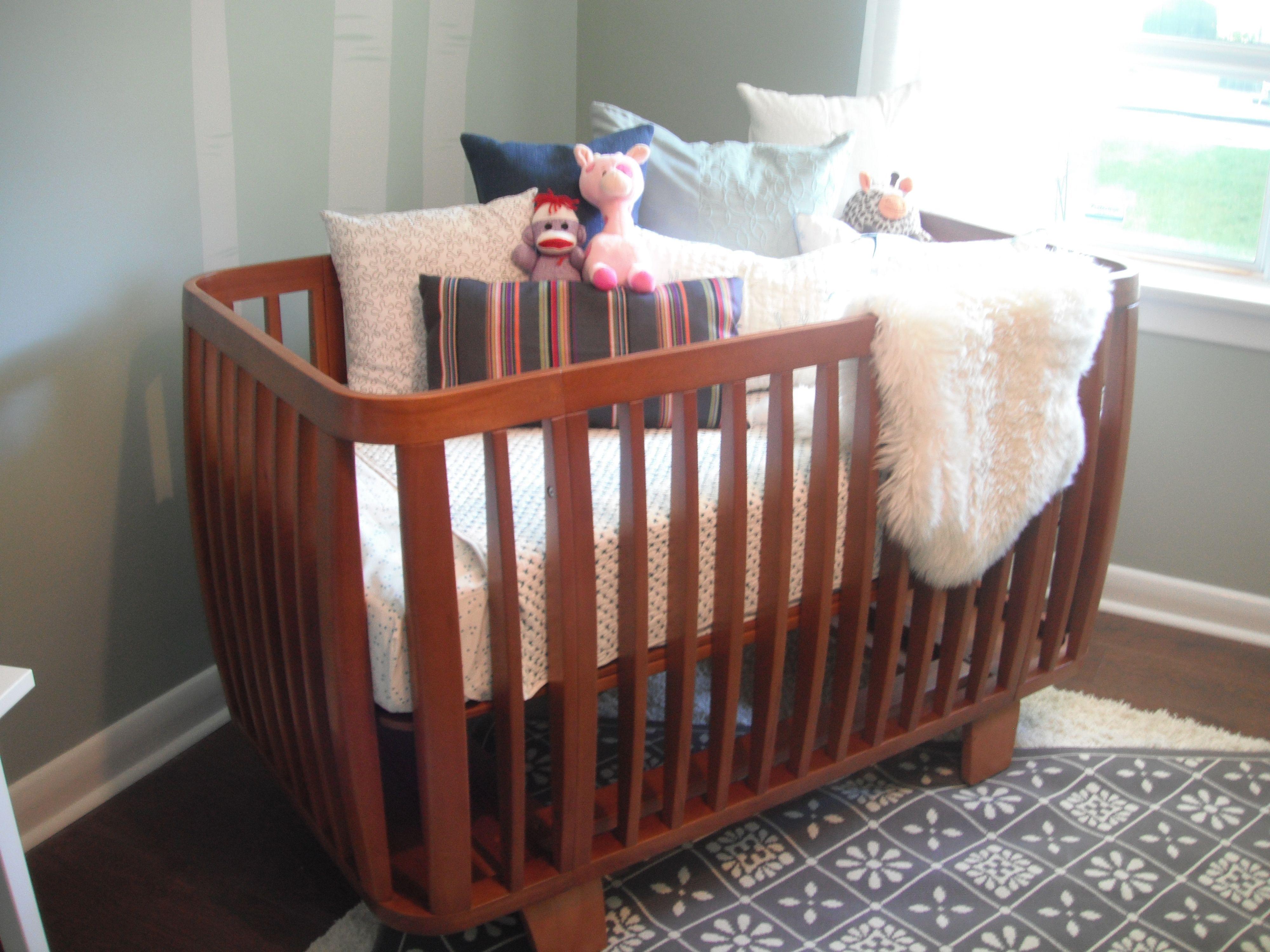 bloom cribs - ella elliot bloom retro crib in oak jennifer derek