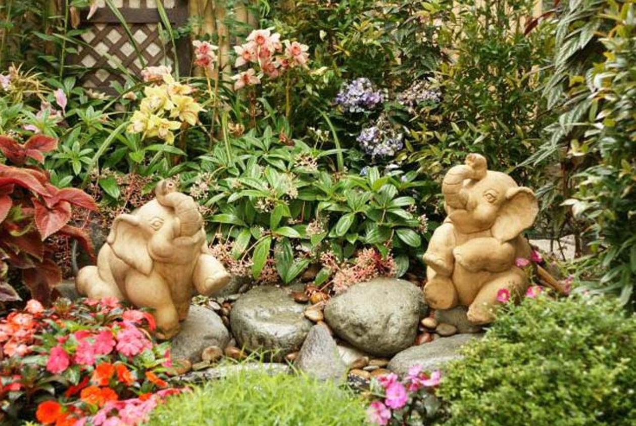 Garden Elephant Statues   Patio/Outdoor Gardening   Pinterest ...