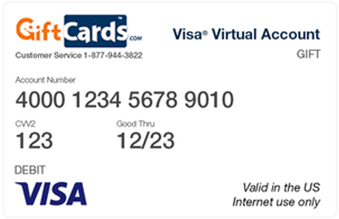 How To Use A Visa Gift Card Online To Make Purchases Visa Gift Card Visa Gift Card Balance Gift Card