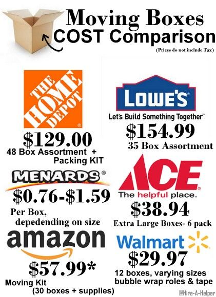 moving boxes price comparison moving boxes for sale on home depot paint sales this week id=74037