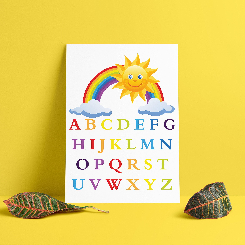 English alphabet printable, alphabet letters, alphabet nursery ...