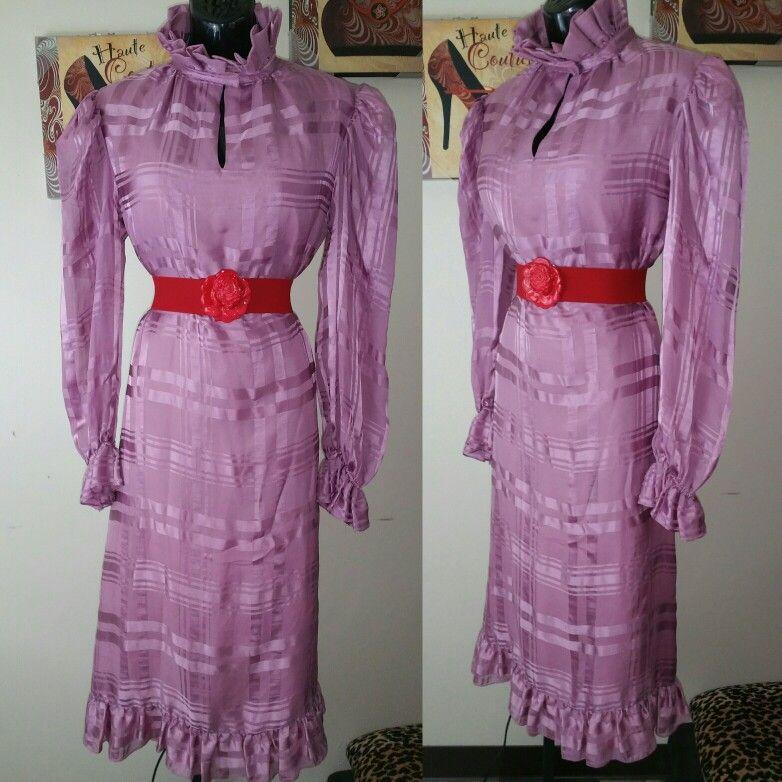 Saks Fifth Avenue beautiful vintage 100% silk dress available ...