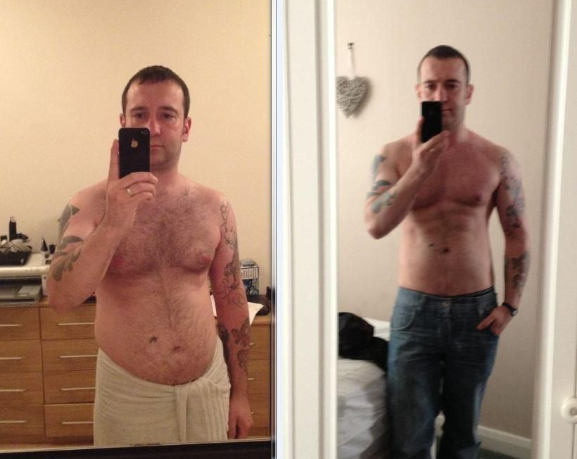 Before And After Body Transformation