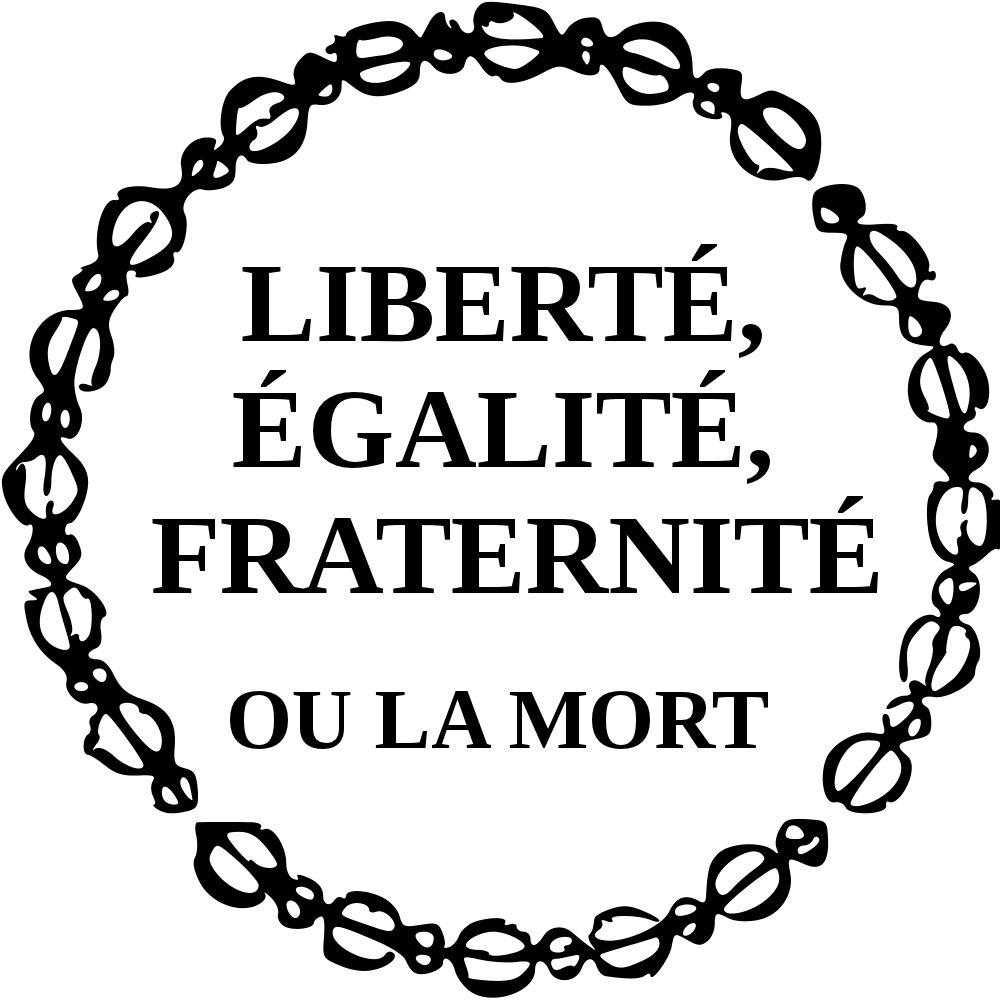 What do you know about the french motto : Liberté, Égalité, Fraternité?