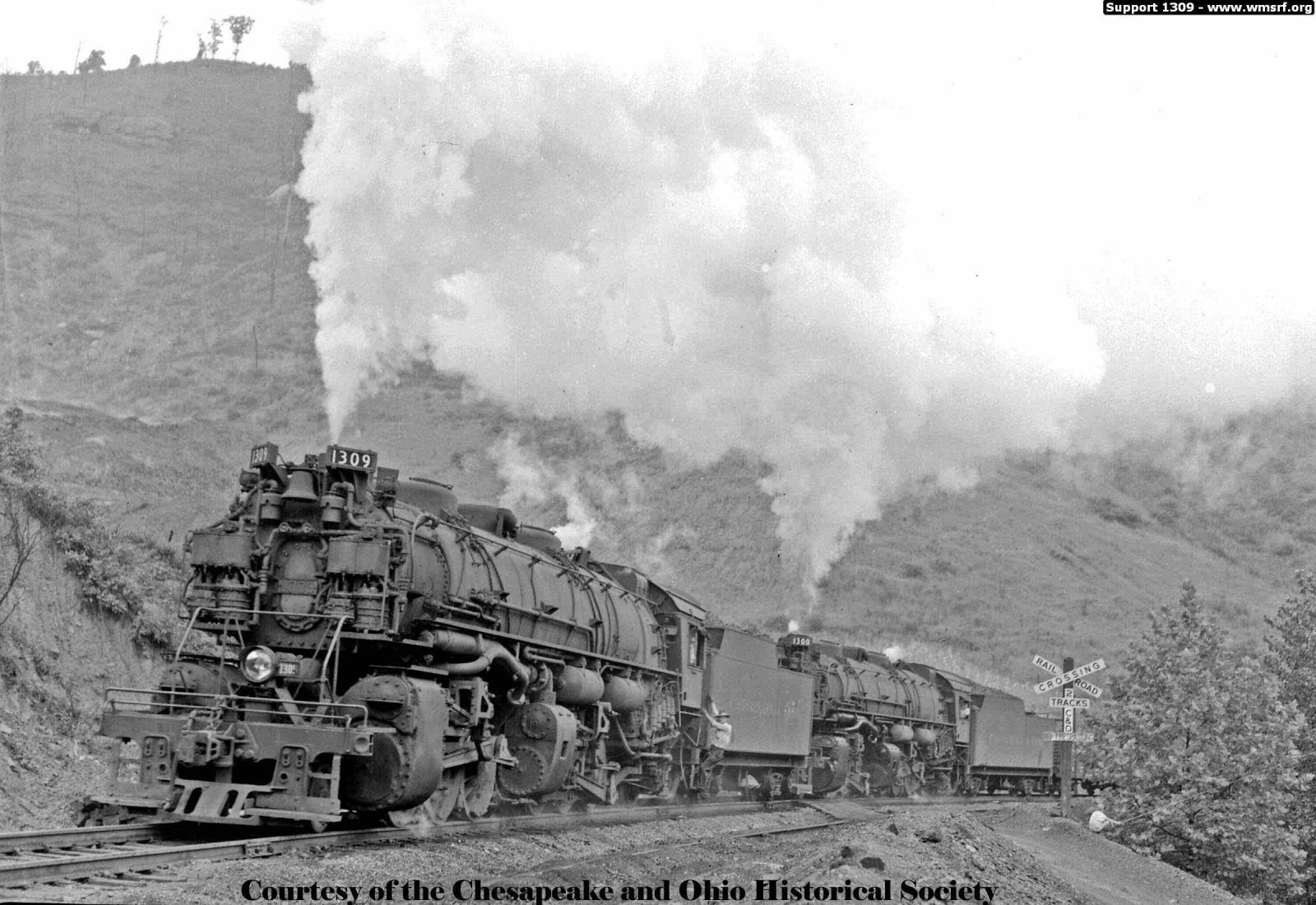 B o railroad museum announces the transfer of chesapeake ohio steam locomotive to western maryland scenic railroad for restoration and operation