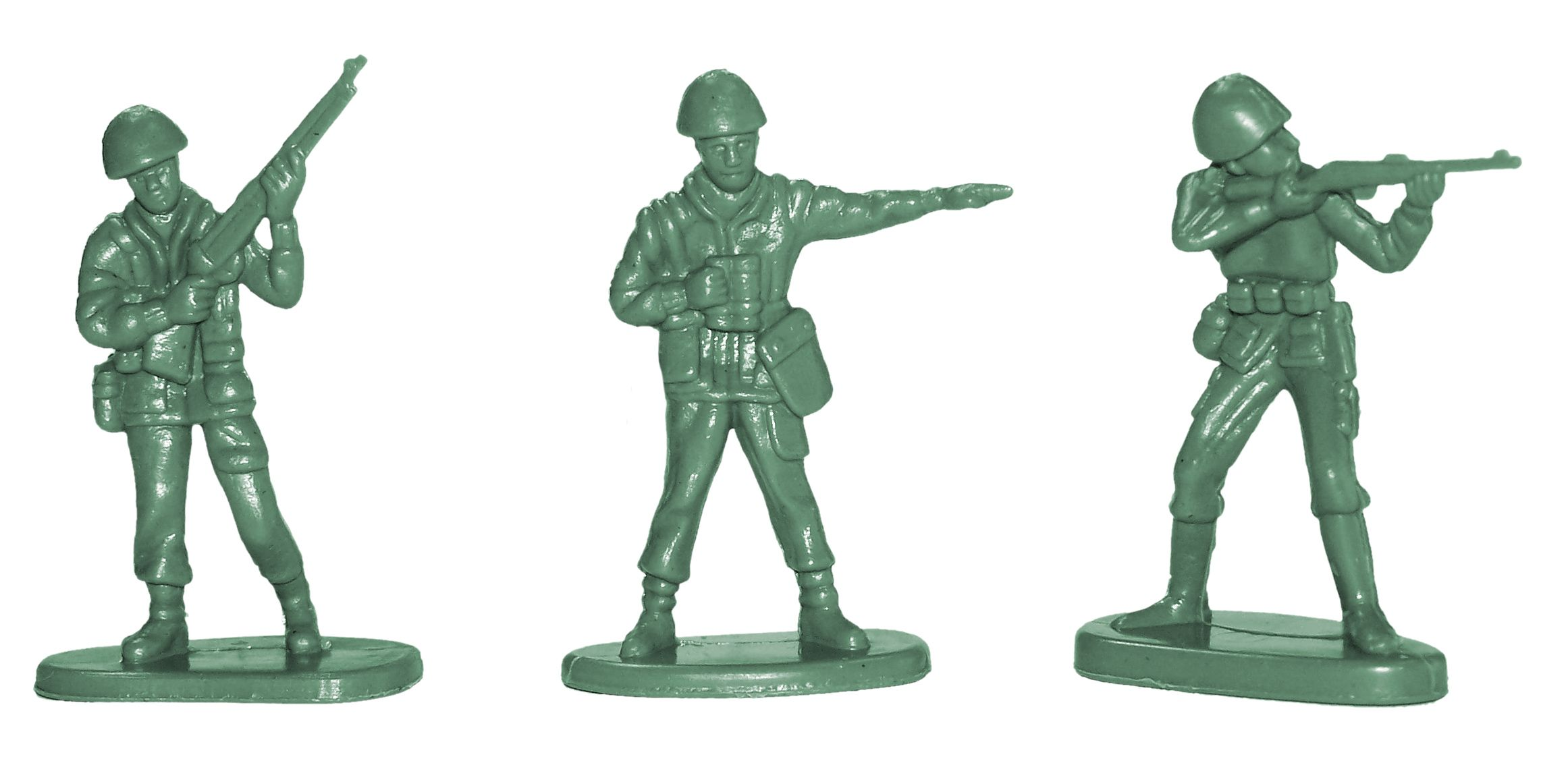 WWII Plastic Toy Sol rs Auburn Toy Sol rs