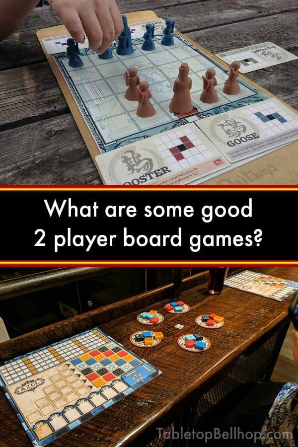 What are some good two player games? Ask The Bellhop