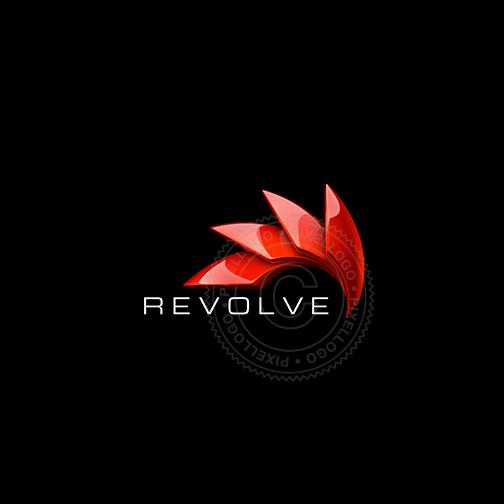 Revolve Automation Logo Logo Design 3d Logo Design 3d Logo