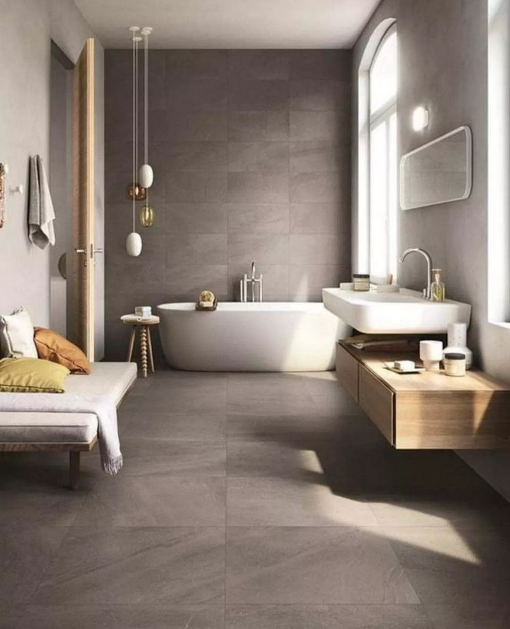Zen Bathroomdesign Ideas:  Make Your Bath Look Stylish With These 64 Minimalist