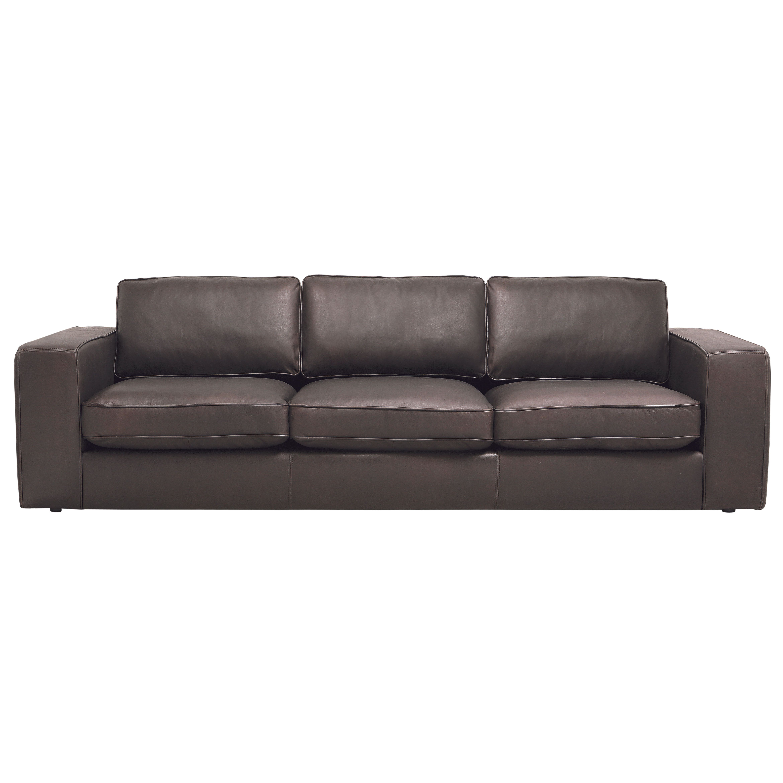 Carson 3.5-Seater Full-Aniline Leather Sofa | Domayne Online ...