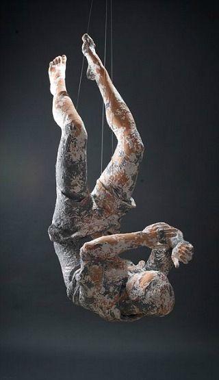 Une chute ne t\u0027empêche pas de recommencer ! Skulpturen Pinterest - moderne skulpturen wohnzimmer