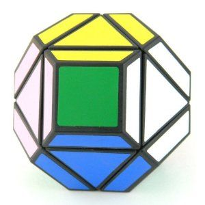QJ Super Megaminx 14 Sides Brain Teaser Triangle Magic Cube Puzzle