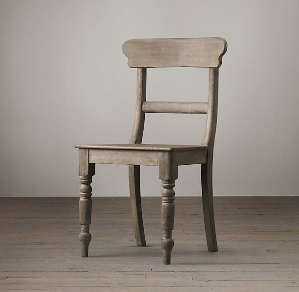 RHs 19Th C English Schoolhouse Side ChairModeled after a