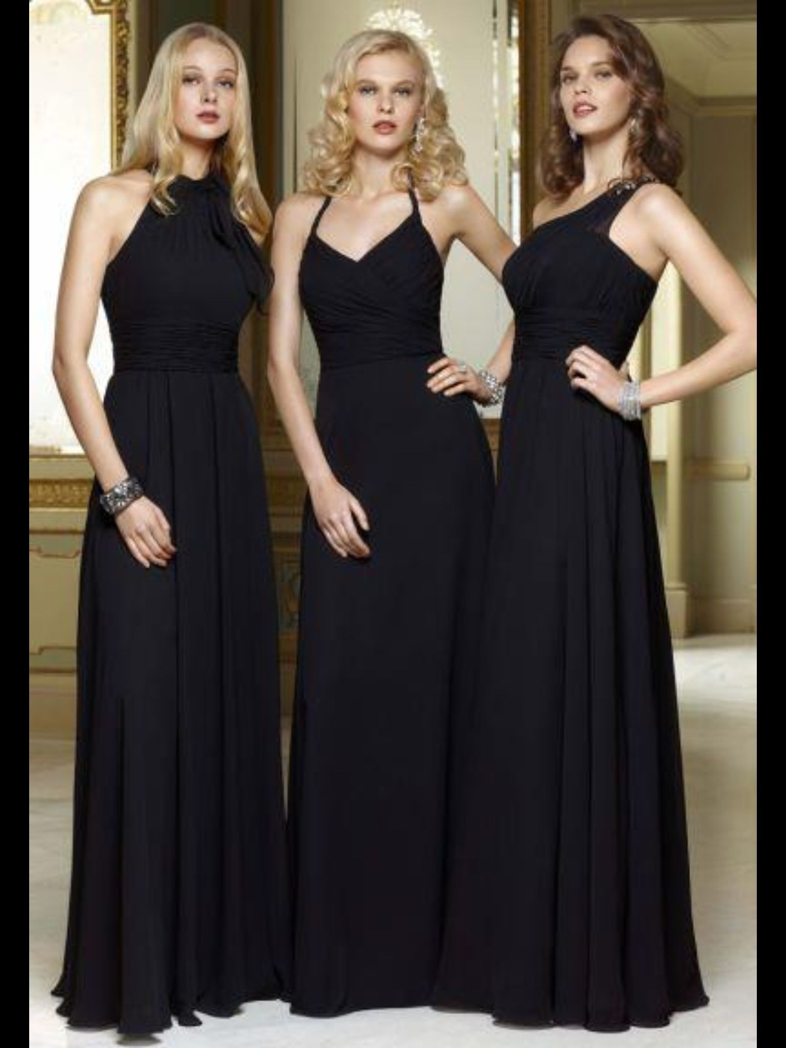 Bridesmaid dresses different colour all things wedding