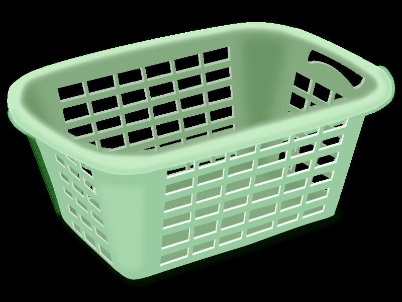 Clipart Plastic Laundry Basket Plastic Laundry Basket Laundry Basket Basket