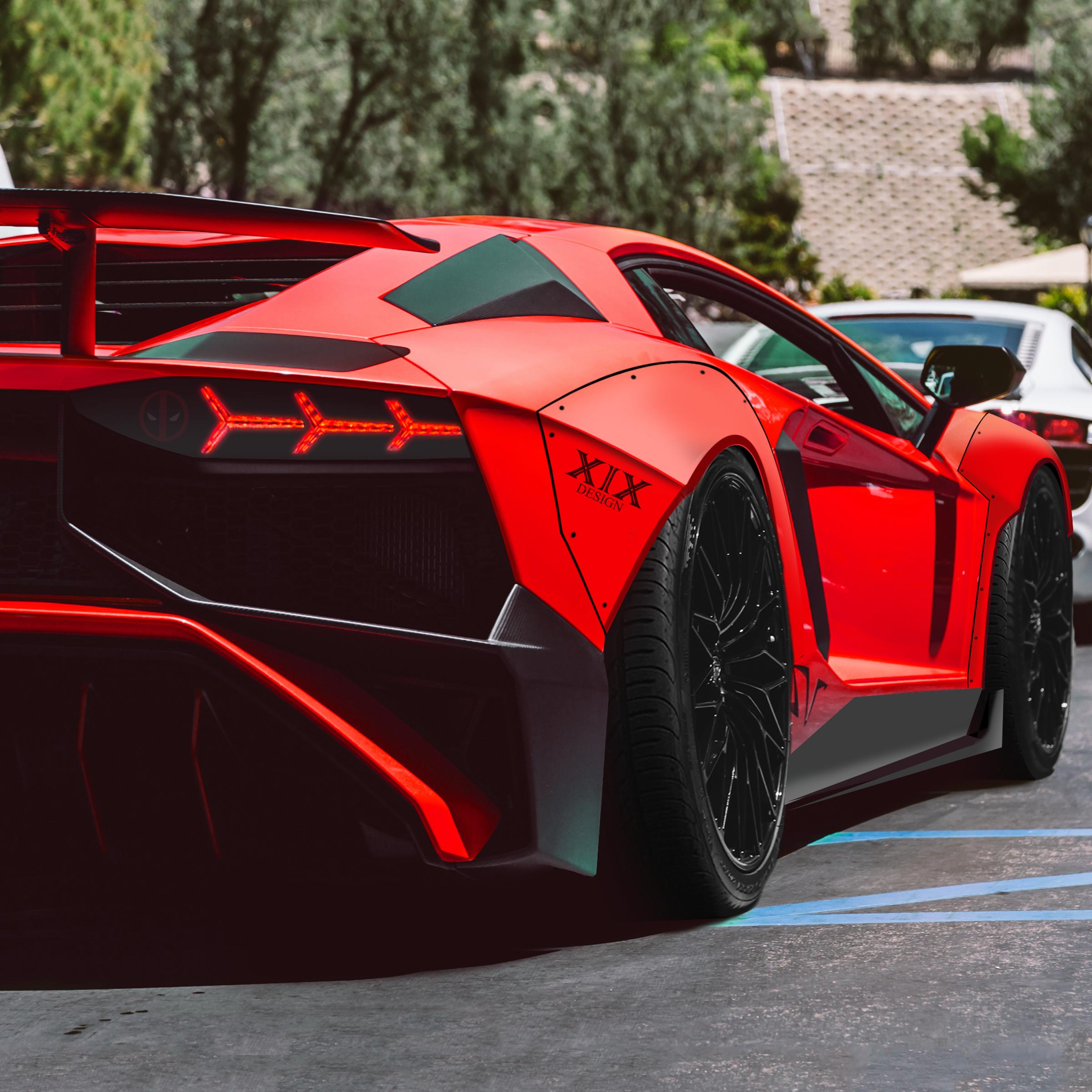 Lamborghini Aventador SV #SuperCar