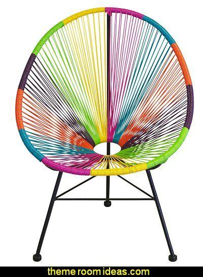 Acapulco Chair Multicolor Boho Looklove It Pinterest Silla