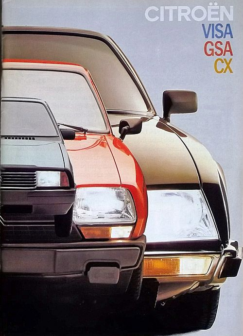 Gs Gsa Birotor Citroen Catalog Gallery By Citroen Ds