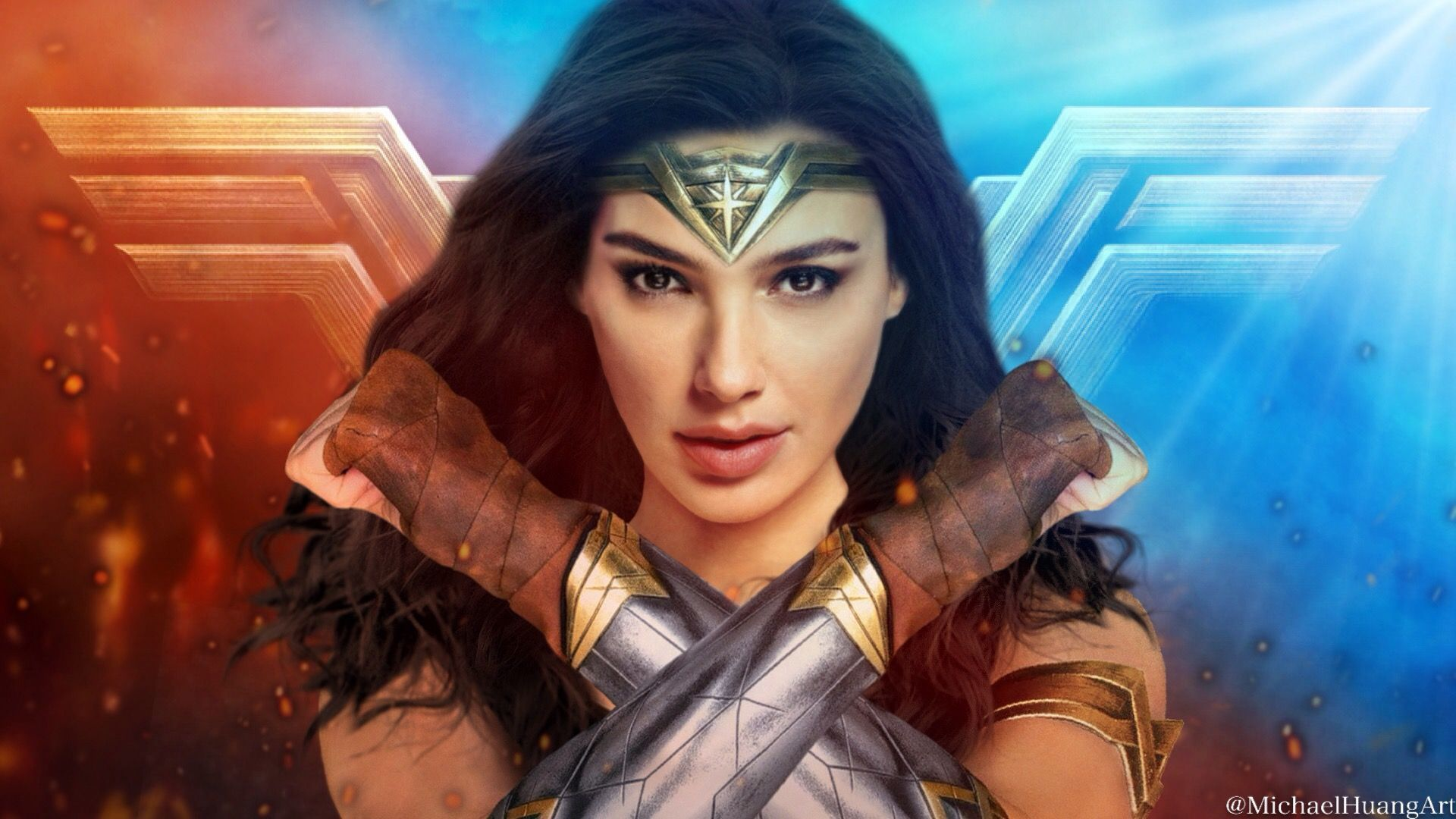 1920x1080 Wonder Woman Wallpaper