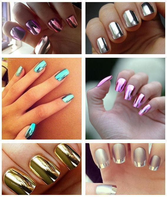 Metal Color Nail Polish Free Samples UV&LED Metallic Nail Gel Polish ...