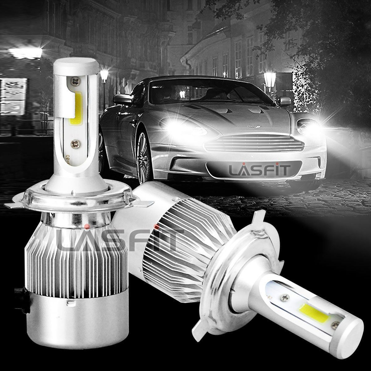 9003 H4 LED Headlight Bulb for Toyota 4Runner Tacoma Sienna Tundra RAV4 Corolla