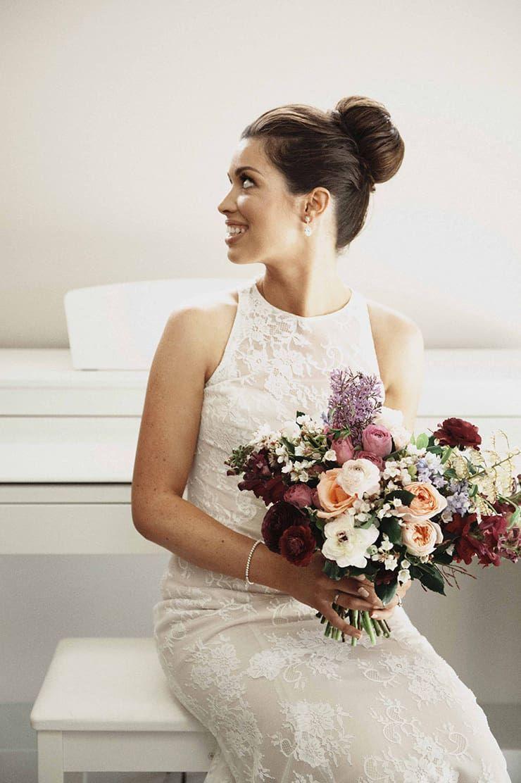 Rustic wedding flower girl dresses  A Chic Rustic Wedding on the Foreshore  Just Wedding Dresses Veils