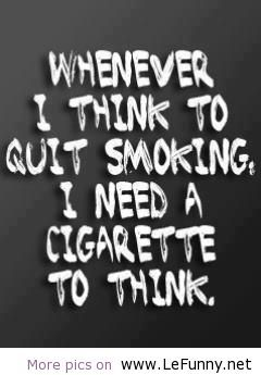 funny smoking quotes