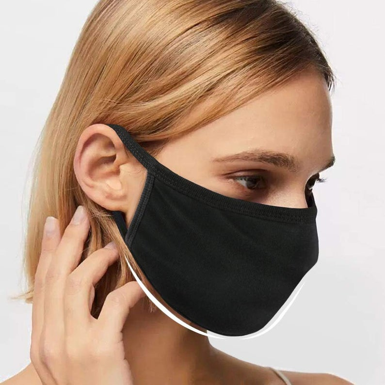 1 Pack Anti Dust Mouth Mask Cotton Mouth Face Mask Adult Etsy 2020