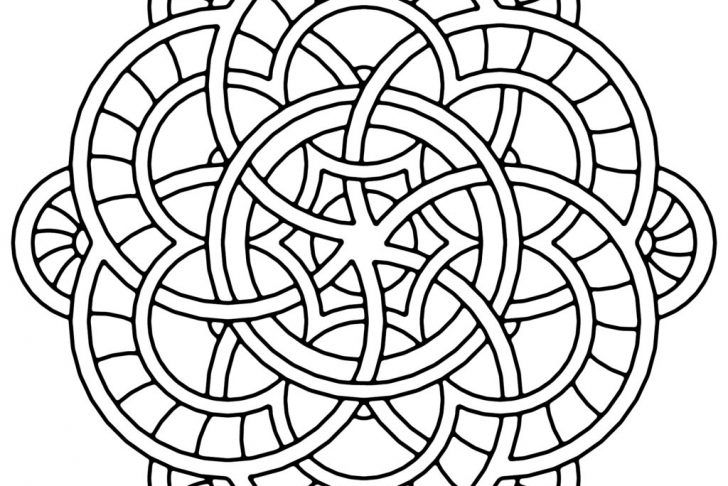 Printable Large Mandala Coloring Pages Mandala Coloring, Coloring Pages,  Mandala Coloring Pages