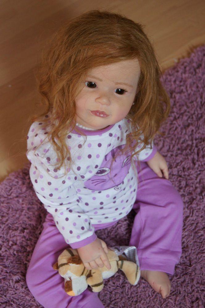 Lnb Reborn Toddler Girl Sally Sculpt Regina Swialkowski
