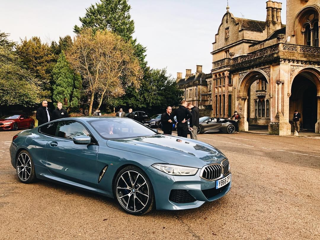 The All New Bmw 8 Series Looks Fantastic Here Finished In