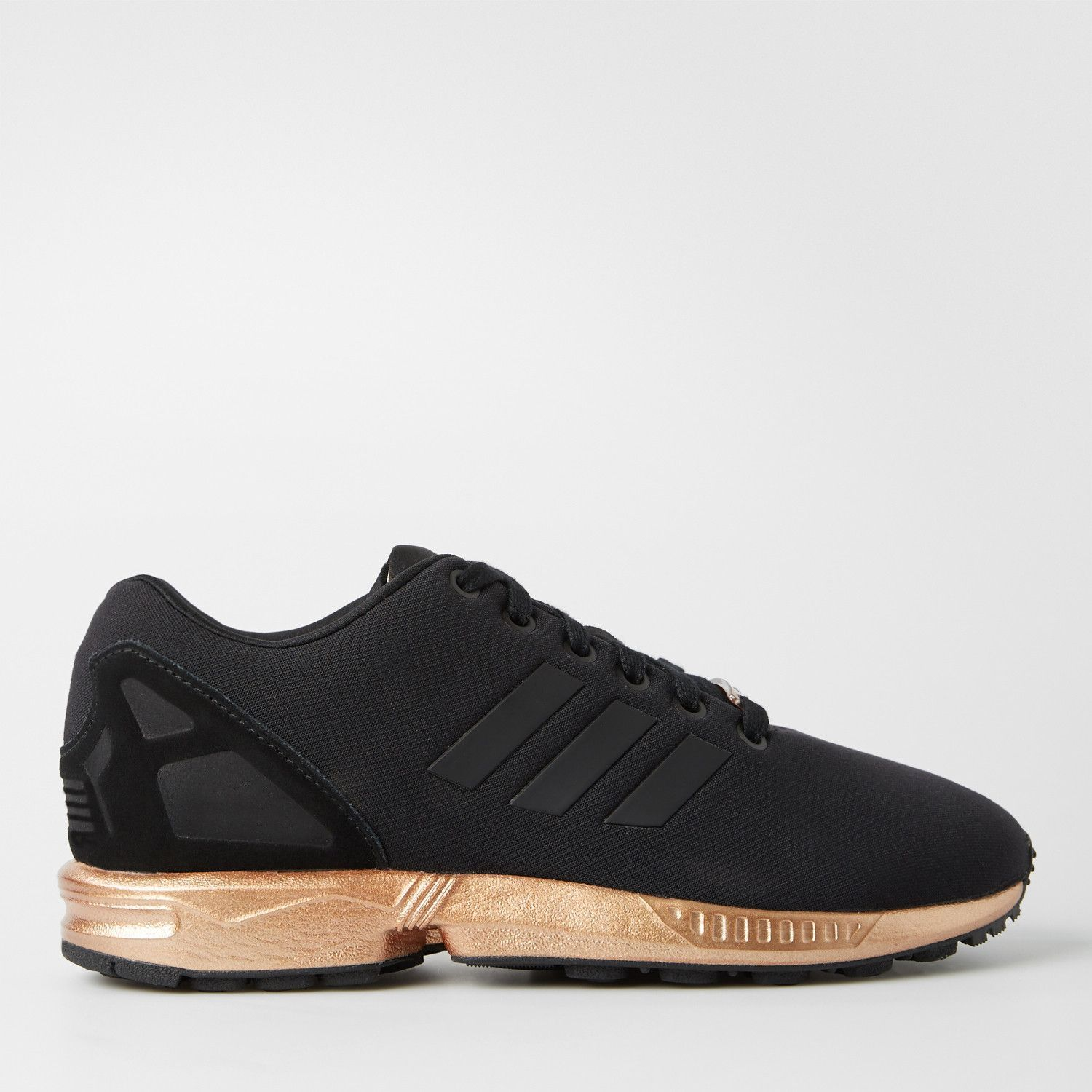 adidas zx flux core black light copper dames