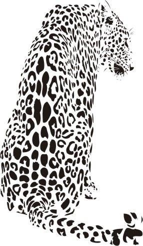 Jaguar   stencil, plott, silhouette   Silhouettes   Pinterest ...