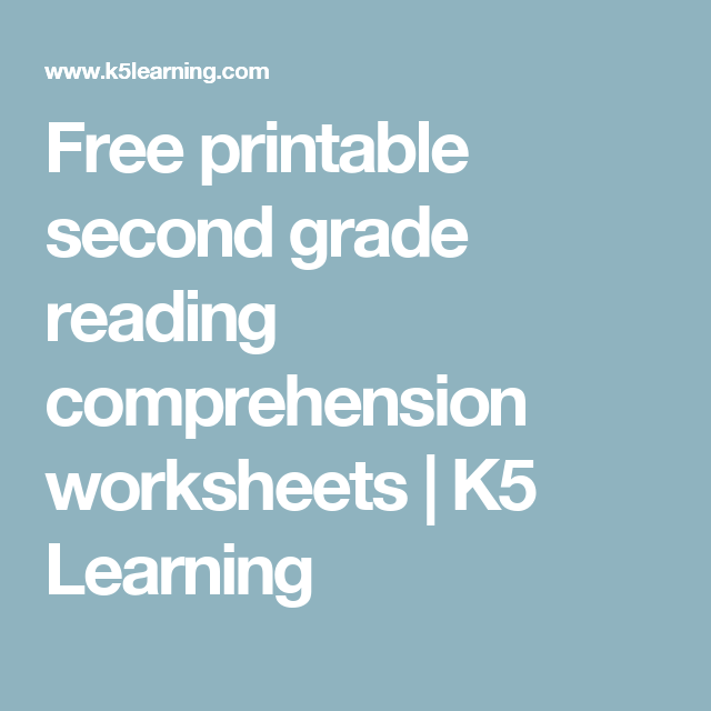 Free Printable Second Grade Reading Comprehension Worksheets K5 Learning Reading Comprehension Worksheets Reading Comprehension Comprehension Worksheets