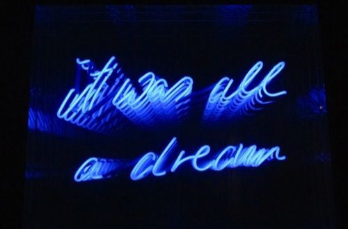 It Was All A Dream Neon Sign Entrancing It Was All A Dream  Neon Sign  Neon Love  Pinterest  Neon Review
