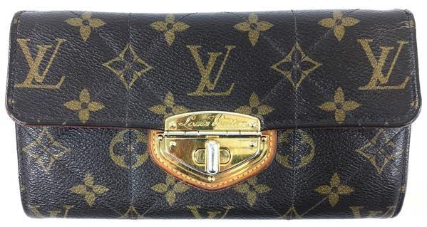 cfdc54927827 Louis Vuitton Brown Coated Canvas Monogram Wallet - FLIP Luxury Consignment