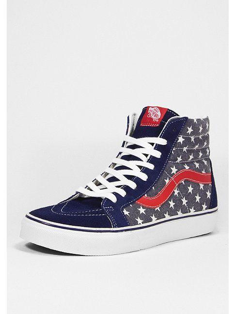 VANS Schuh Sk8 Hi Reissue stars stripes van doren Artikelnummer 1010410 Converse Sneakers