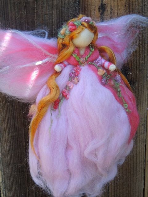 Pink Fairy - Needle Felted