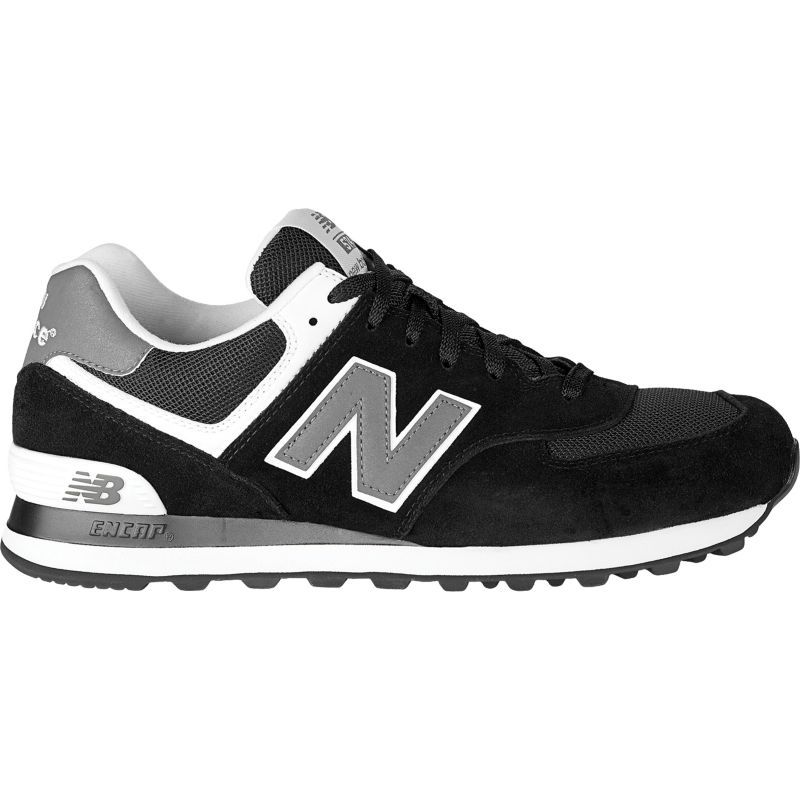 New Balance Men's 574 Casual Shoes, Size: 10, Black | New ...