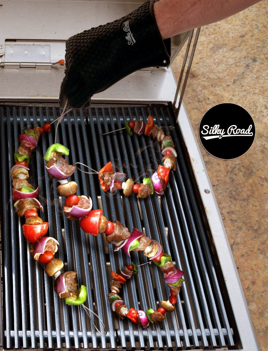 Allin1 18piece Barbecue Grill Smoker Accessories Set 2 Meat