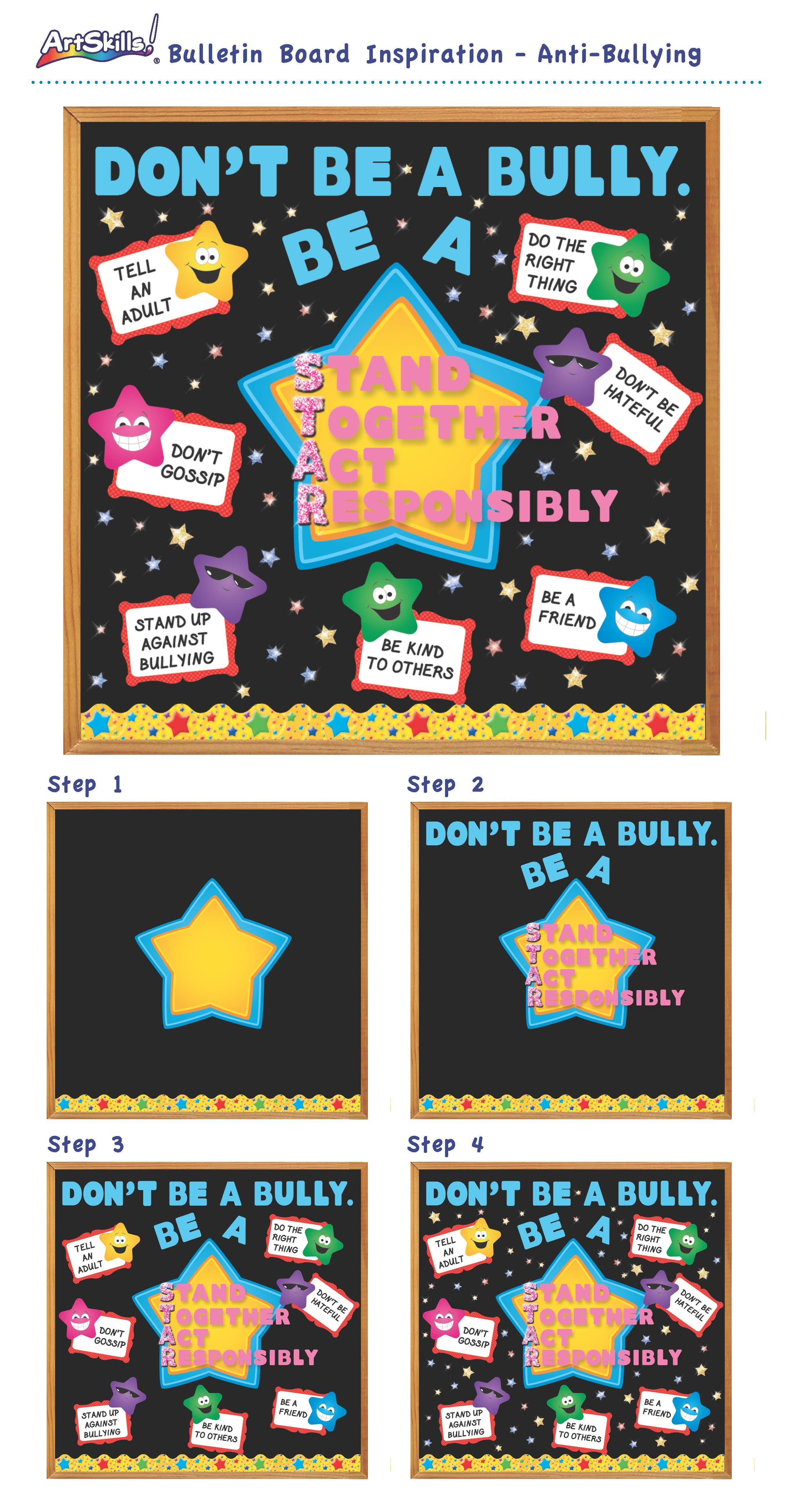 Bulletin Board Inspiration Anti Bullying