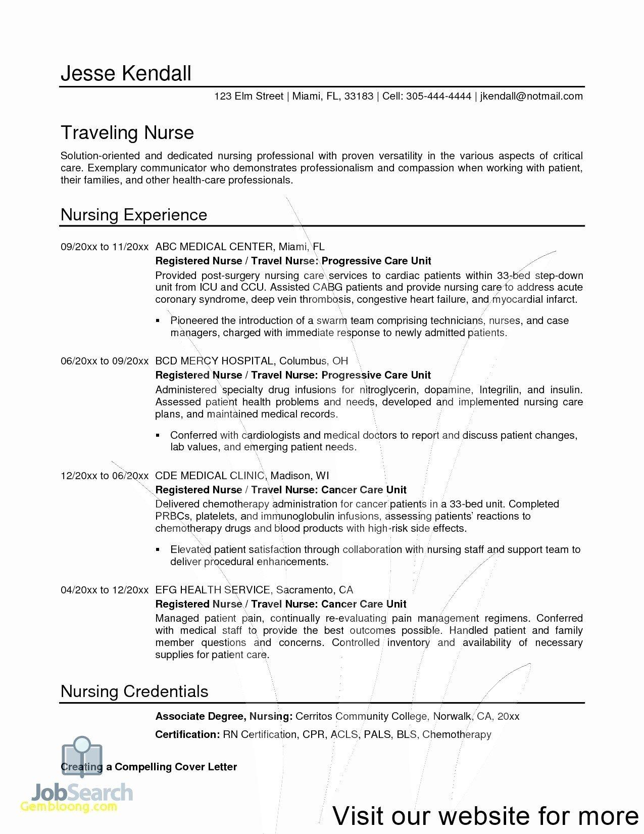 resume design template free in 2020 Registered nurse