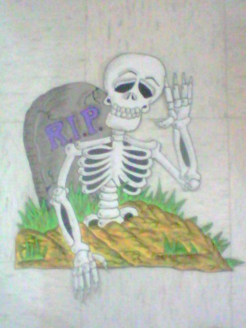 Calaverita Saludando Calaveras Dia De Muertos Manualidades