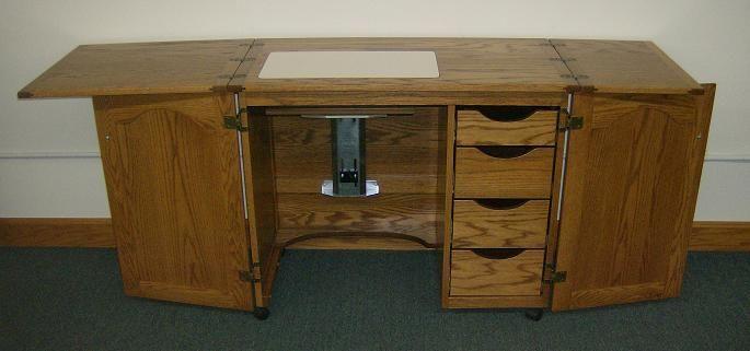 jake s amish furniture amish sewing machine cabinet just opened rh pinterest com  amish treadle sewing machine cabinet
