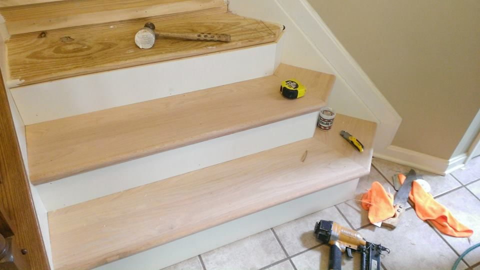 NuStair Retread. Easily DIY. Remodel Your Staircase In About A Weekend!